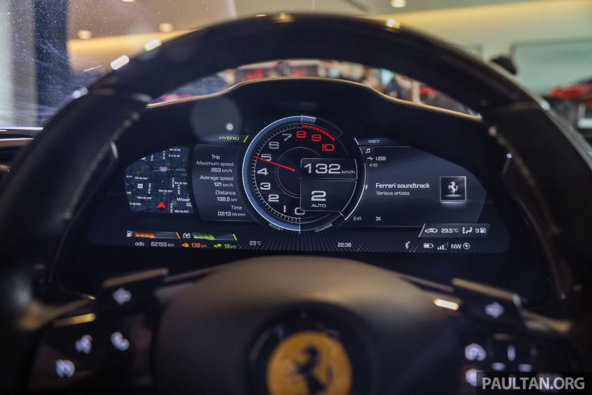 Ferrari SF90 Stradale dilancarkan di M'sia – 3,990 cc V8, klac berkembar 8-kelajuan baharu; dari RM1.908j Image #1178971