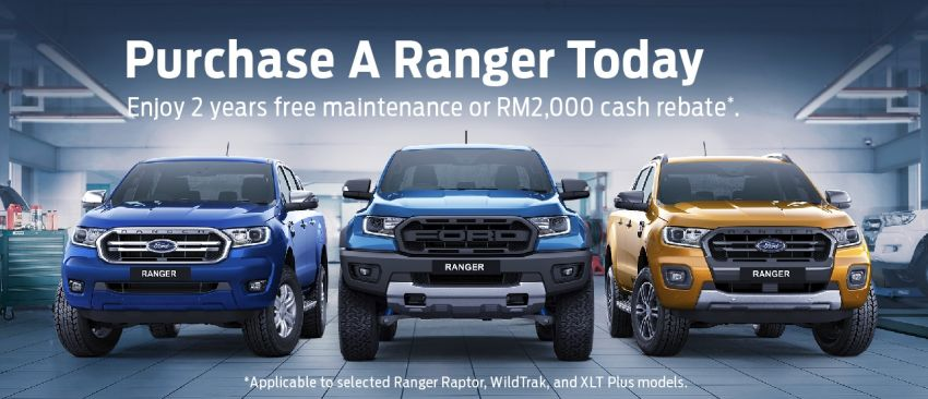 AD: Great deals on the Ford Ranger until December – get two years free maintenance or cash rebates Image #1179590