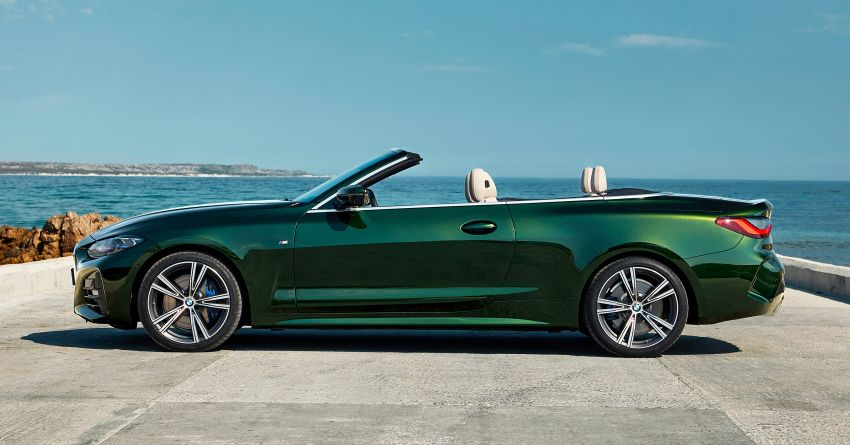 G23 BMW 4 Series Convertible debuts – less weight, 80-litre gain in luggage capacity with new fabric roof Image #1185490