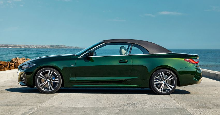 G23 BMW 4 Series Convertible debuts – less weight, 80-litre gain in luggage capacity with new fabric roof Image #1185491