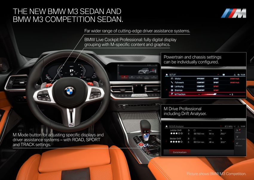 2020 BMW M3 and M4 revealed – G80 and G82 get massive grille, up to 510 PS, optional manual and AWD Image #1181019