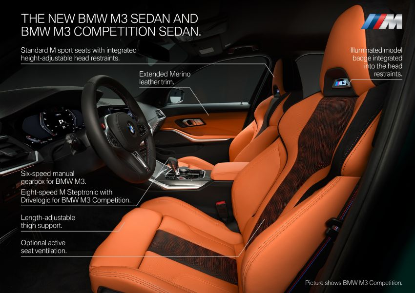 2020 BMW M3 and M4 revealed – G80 and G82 get massive grille, up to 510 PS, optional manual and AWD Image #1181021