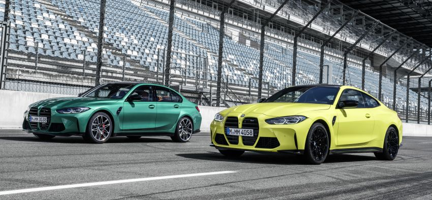 2020 BMW M3 and M4 revealed – G80 and G82 get massive grille, up to 510 PS, optional manual and AWD Image #1181001