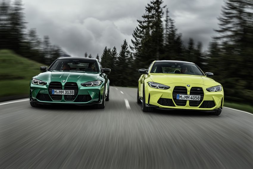 2020 BMW M3 and M4 revealed – G80 and G82 get massive grille, up to 510 PS, optional manual and AWD Image #1181002