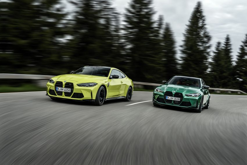 2020 BMW M3 and M4 revealed – G80 and G82 get massive grille, up to 510 PS, optional manual and AWD Image #1181003