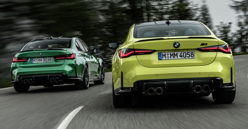 2020 BMW M3 and M4 revealed – G80 and G82 get massive grille, up to 510 PS, optional manual and AWD Image #1181006