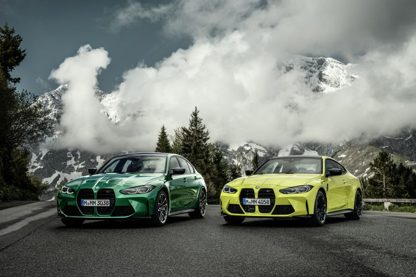 2020 BMW M3 and M4 revealed – G80 and G82 get massive grille, up to 510 PS, optional manual and AWD Image #1181010