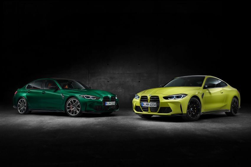 2020 BMW M3 and M4 revealed – G80 and G82 get massive grille, up to 510 PS, optional manual and AWD Image #1181013
