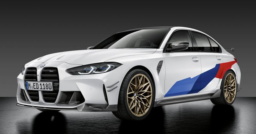 G80 BMW M3, G82 BMW M4 get M Performance parts Image #1181803