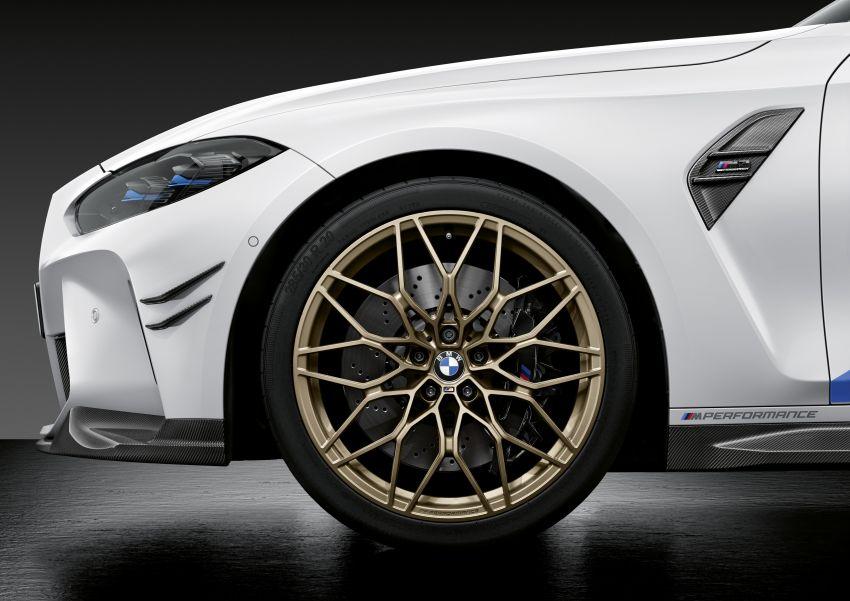 G80 BMW M3, G82 BMW M4 get M Performance parts Image #1181834