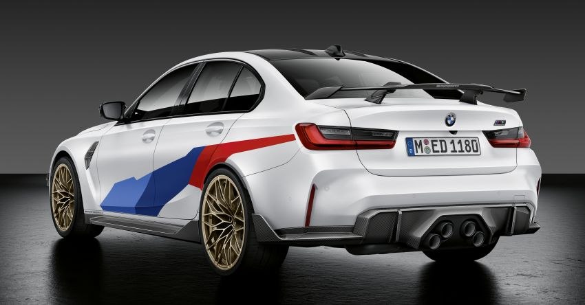G80 BMW M3, G82 BMW M4 get M Performance parts Image #1181810