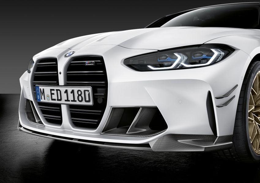 G80 BMW M3, G82 BMW M4 get M Performance parts Image #1181813