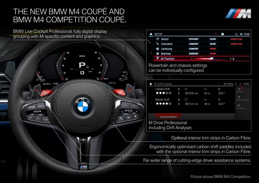 2020 BMW M3 and M4 revealed – G80 and G82 get massive grille, up to 510 PS, optional manual and AWD Image #1181025