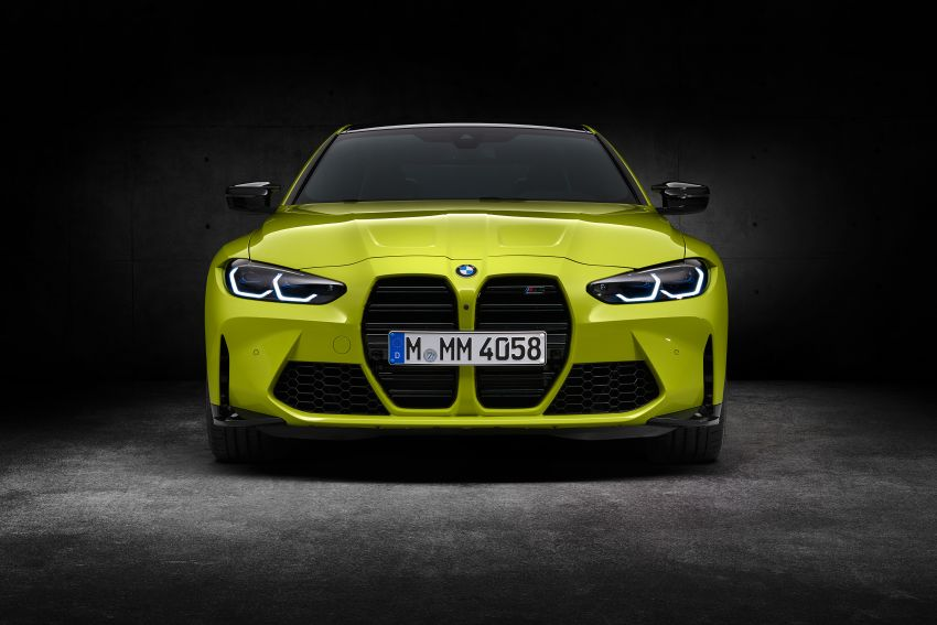 2020 BMW M3 and M4 revealed – G80 and G82 get massive grille, up to 510 PS, optional manual and AWD Image #1181318