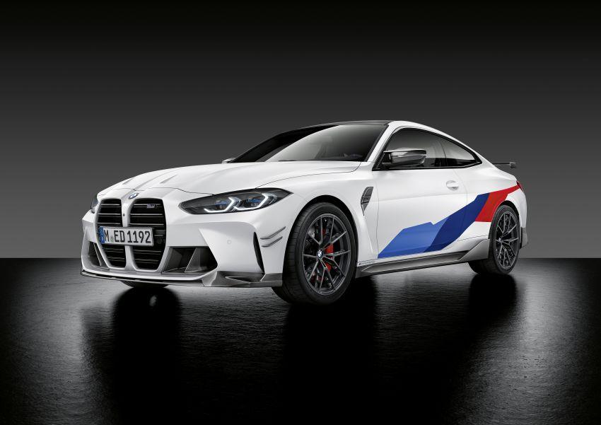 G80 BMW M3, G82 BMW M4 get M Performance parts Image #1181837