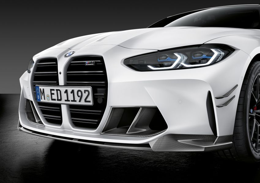 G80 BMW M3, G82 BMW M4 get M Performance parts Image #1181840