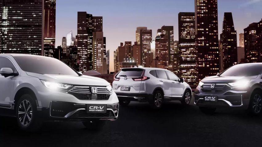 Honda CR-V PHEV revealed for China at 2020 Beijing Motor Show – dual-motor, Sport Hybrid i-MMD system Image #1184306