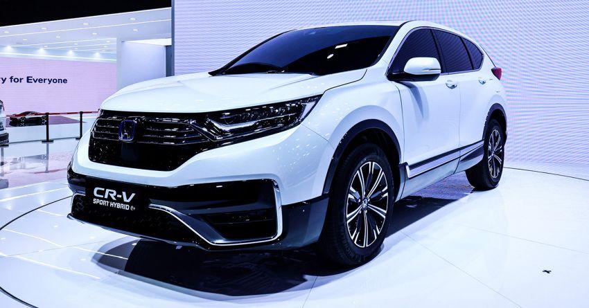 Honda CR-V PHEV revealed for China at 2020 Beijing Motor Show – dual-motor, Sport Hybrid i-MMD system Image #1184292