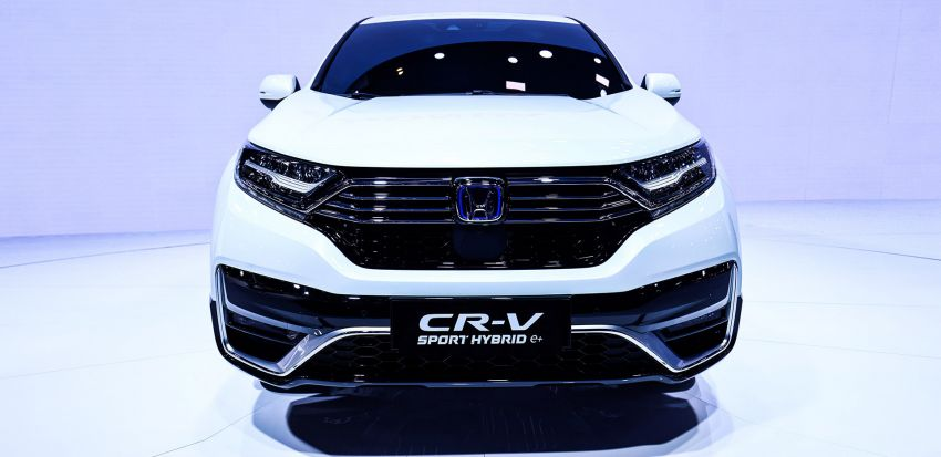 Honda CR-V PHEV revealed for China at 2020 Beijing Motor Show – dual-motor, Sport Hybrid i-MMD system Image #1184294