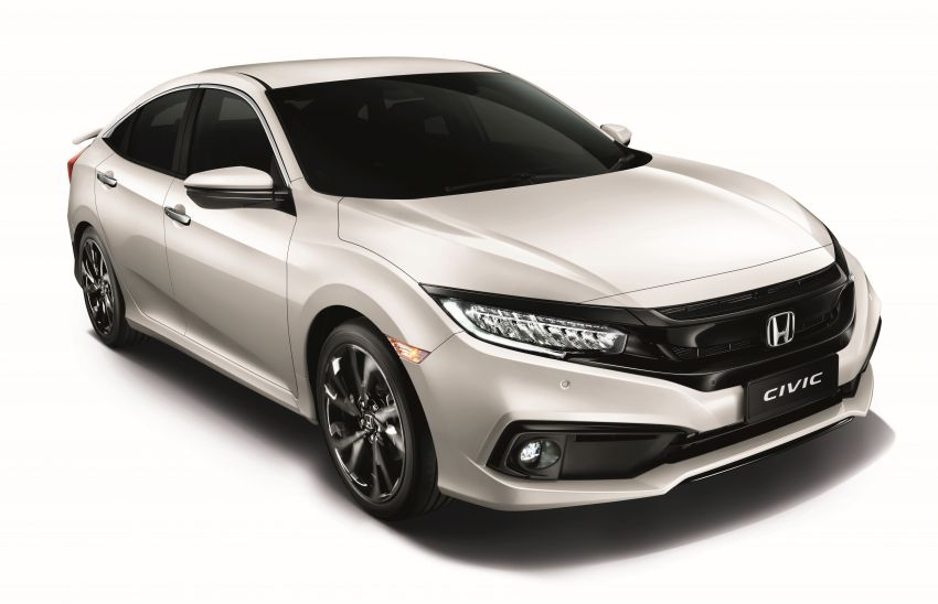 Honda Civic and BR-V now available in Platinum White Pearl – replaces White Orchid Pearl, RM273 extra Image #1178519