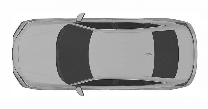 Eleventh-generation Honda Civic design revealed in patent images – sedan and hatchback versions seen Image #1185470
