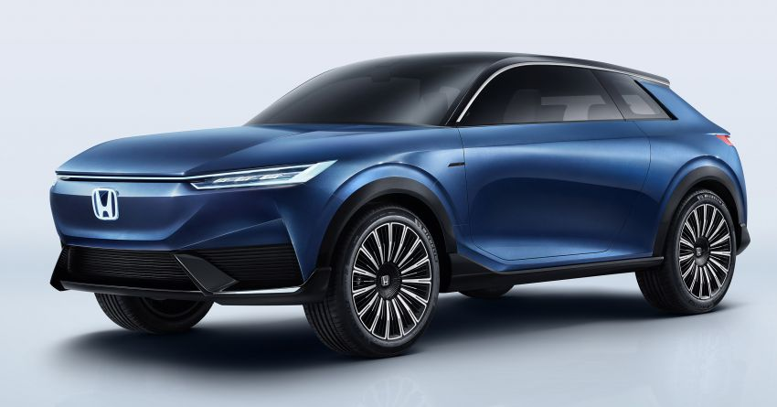 Honda SUV e:concept makes its debut at Beijing Motor Show – previews brand's first EV model for China Image #1184171