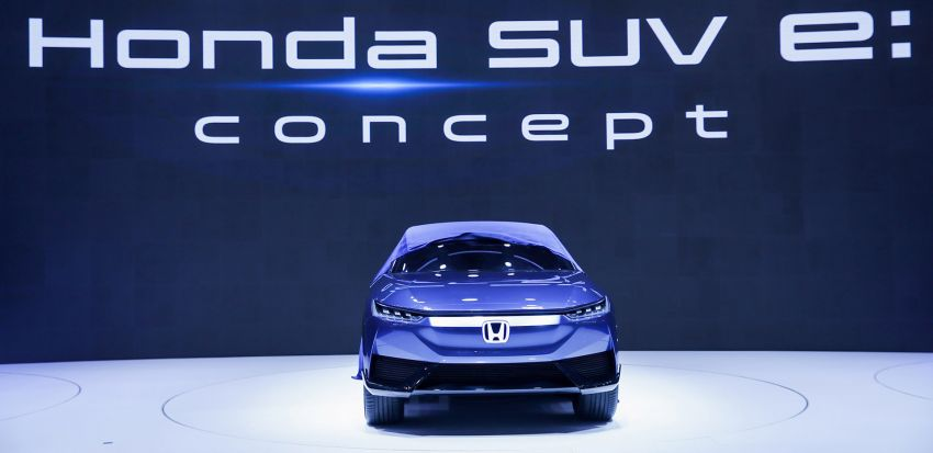Honda SUV e:concept makes its debut at Beijing Motor Show – previews brand's first EV model for China Image #1184181