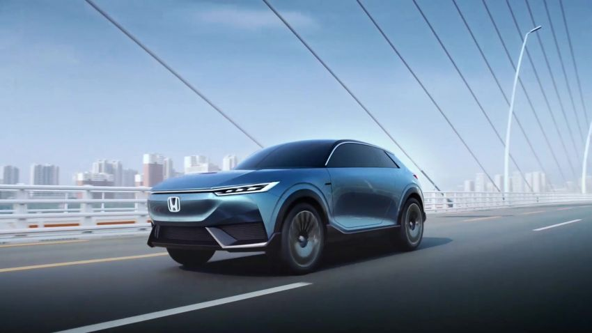 Honda SUV e:concept makes its debut at Beijing Motor Show – previews brand's first EV model for China Image #1184188