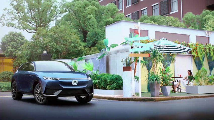 Honda SUV e:concept makes its debut at Beijing Motor Show – previews brand's first EV model for China Image #1184202
