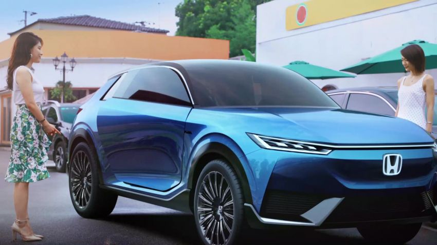 Honda SUV e:concept makes its debut at Beijing Motor Show – previews brand's first EV model for China Image #1184205
