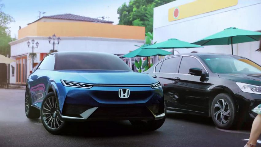 Honda SUV e:concept makes its debut at Beijing Motor Show – previews brand's first EV model for China Image #1184207