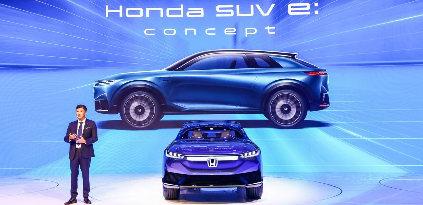 Honda SUV e:concept makes its debut at Beijing Motor Show – previews brand's first EV model for China Image #1184174