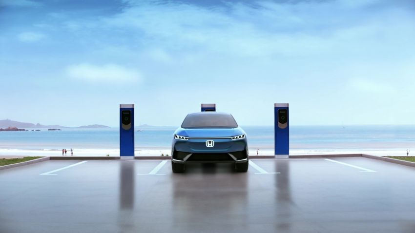 Honda SUV e:concept makes its debut at Beijing Motor Show – previews brand's first EV model for China Image #1184217