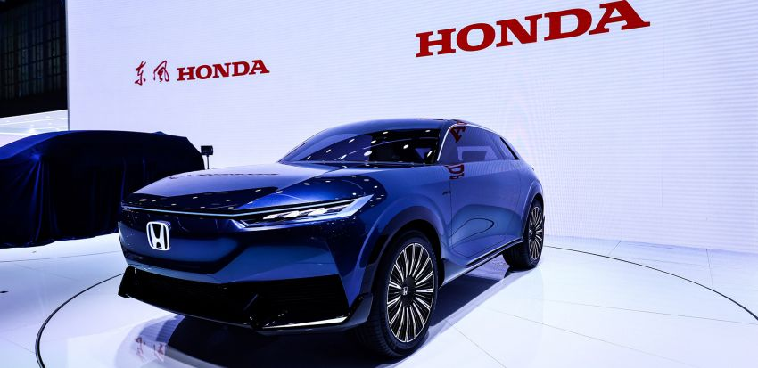 Honda SUV e:concept makes its debut at Beijing Motor Show – previews brand's first EV model for China Image #1184262