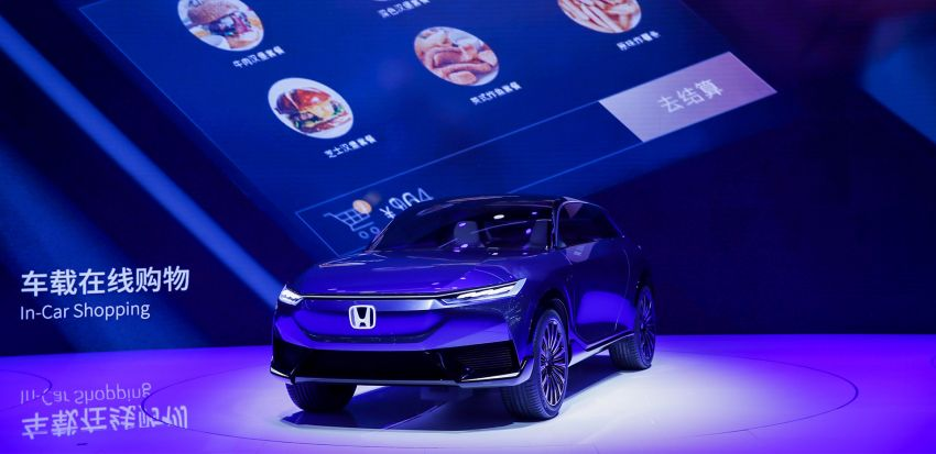 Honda SUV e:concept makes its debut at Beijing Motor Show – previews brand's first EV model for China Image #1184175