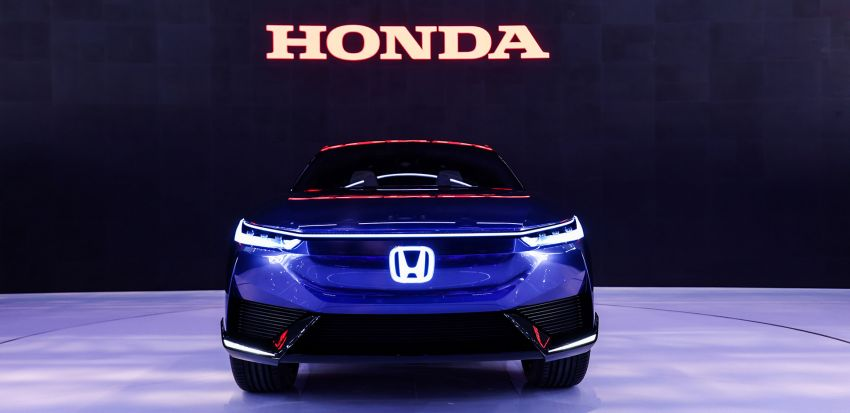 Honda SUV e:concept makes its debut at Beijing Motor Show – previews brand's first EV model for China Image #1184266