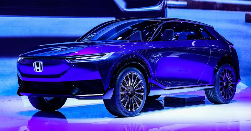 Honda SUV e:concept makes its debut at Beijing Motor Show – previews brand's first EV model for China Image #1184179