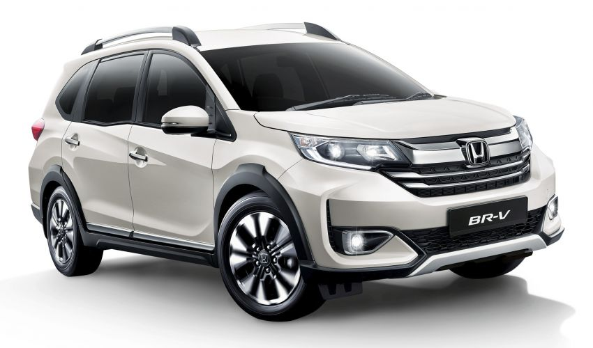 Honda Civic and BR-V now available in Platinum White Pearl – replaces White Orchid Pearl, RM273 extra Image #1178526