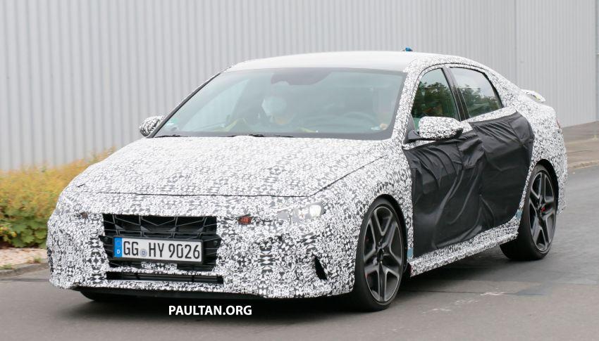 2021 Hyundai Elantra N – prototype teased in video Image #1184836