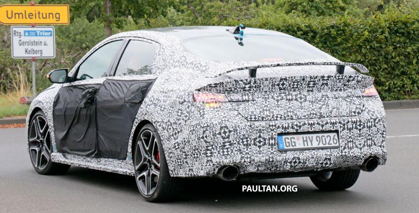 2021 Hyundai Elantra N – prototype teased in video Image #1184824
