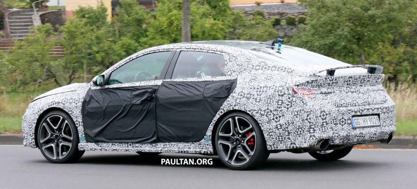 2021 Hyundai Elantra N – prototype teased in video Image #1184822
