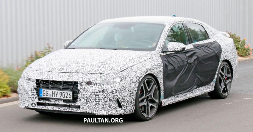 2021 Hyundai Elantra N – prototype teased in video Image #1184835