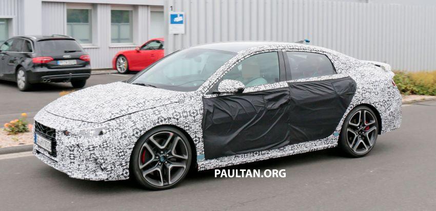 2021 Hyundai Elantra N – prototype teased in video Image #1184834
