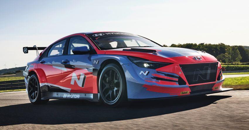 Hyundai Elantra N TCR revealed – latest addition to touring car arsenal alongside i30 N, Veloster N racers Image #1185097