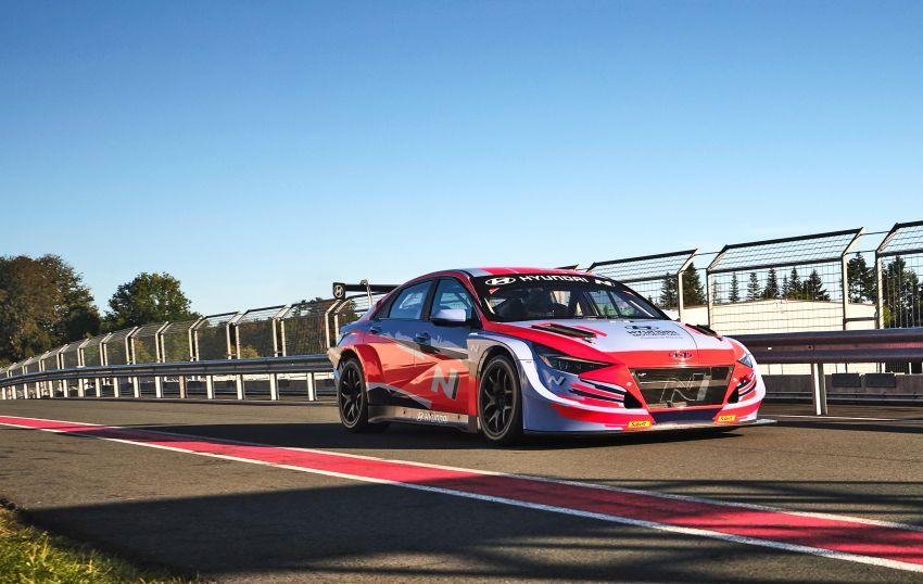 Hyundai Elantra N TCR revealed – latest addition to touring car arsenal alongside i30 N, Veloster N racers Image #1185096