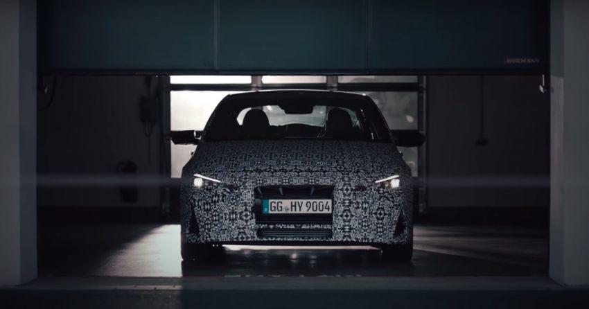 2021 Hyundai Elantra N – prototype teased in video Image #1184821