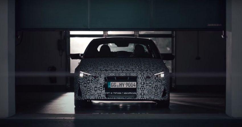 Hyundai Elantra N – <em>teaser</em> disiarkan dalam video Image #1185047