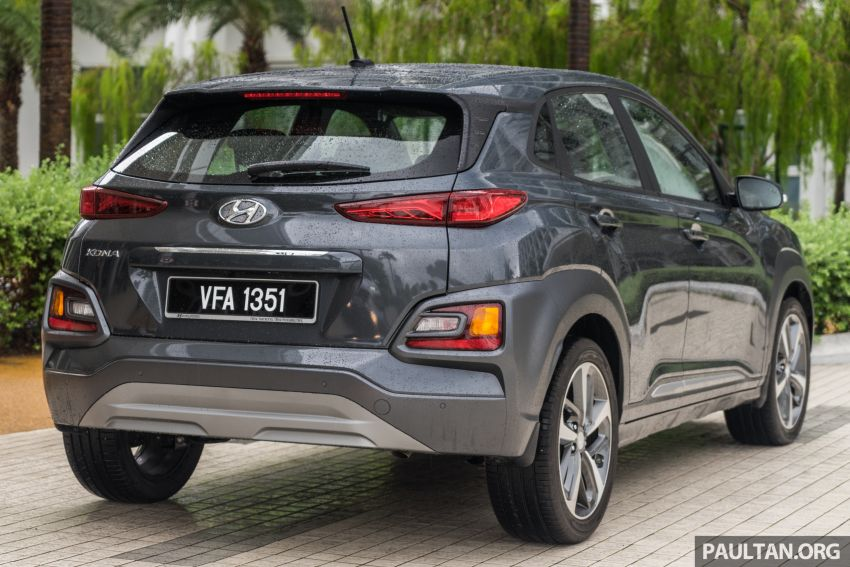 GALLERY: Hyundai Kona 2.0 MPI Mid – first photos of local-spec naturally-aspirated variant, 149 PS/179 Nm Image #1185823