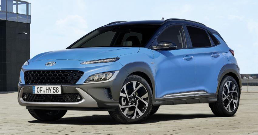 Hyundai Kona facelift revealed – now with N Line trim; enhanced powertrains, driver assist, connectivity Image #1169810