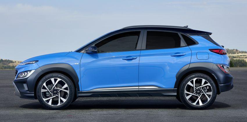 Hyundai Kona facelift revealed – now with N Line trim; enhanced powertrains, driver assist, connectivity Image #1169811